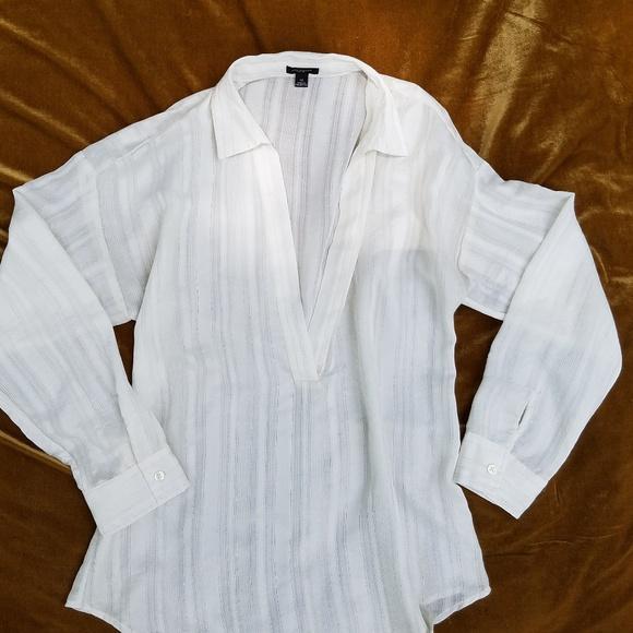 Ann Taylor Tops - Ann Taylor eggshell blouse